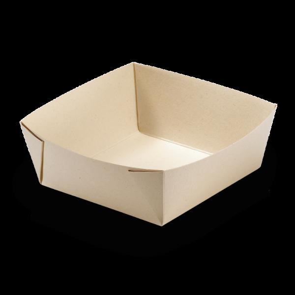 naturesse Take away Box Kraft/PLA 197x140x90mm 2482ml