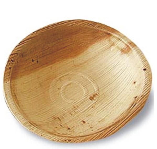 Palmblatt-Teller rund, Ø 22 cm, Tiefe 2,5 cm