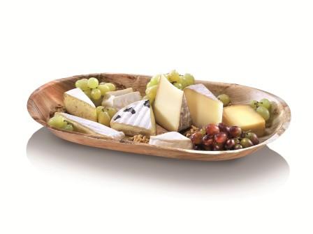 Palmblatt-Schale Tray oval, 48 x 24 x 4 cm - Calvi
