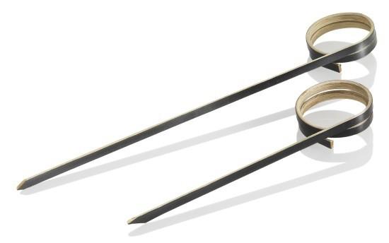 Bambus Stick schwarz - Mumbai 12cm -