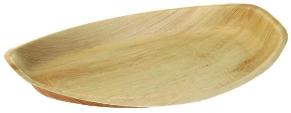 Palmblatt Platte mittel 34,5x23,5cm, 2,5 cm tief