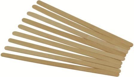 Rührstäbchen, Birkenholz, 16 cm