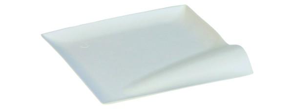 Zuckerrohr Teller Wave 15 x 15 x 1,4 cm