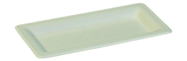 Zuckerrohr Teller Karo 26 x 13 x 1,5 cm