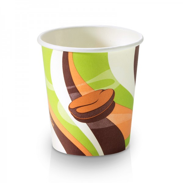 "Kaffee Kartonbecher ""retro"" 0,1 l"